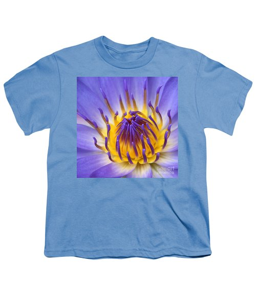The Lotus Flower Youth T-Shirt by Sharon Mau