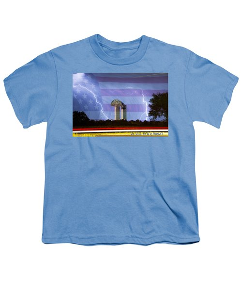9-11 We Will Never Forget 2011 Poster Youth T-Shirt