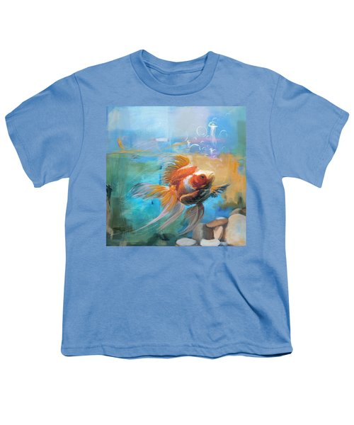 Aqua Gold Youth T-Shirt