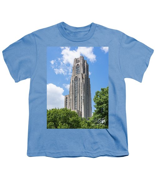 Cathedral Of Learning - Pittsburgh Pa Youth T-Shirt