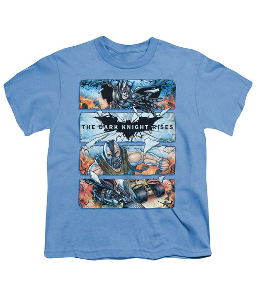 Dark Knight Rises - Shattered Glass Youth T-Shirt