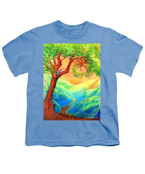 Dreaming Of Bluebells Youth T-Shirt