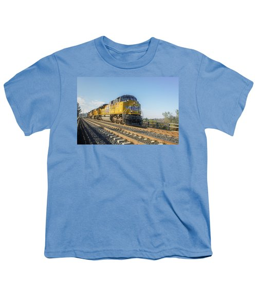 Youth T-Shirt featuring the photograph Hp 8717 by Jim Thompson