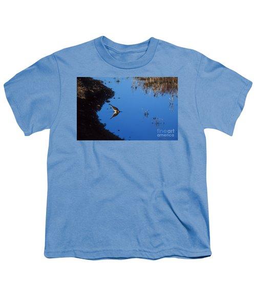 Killdeer Youth T-Shirt by Steven Ralser