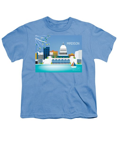 Madison Youth T-Shirt by Karen Young