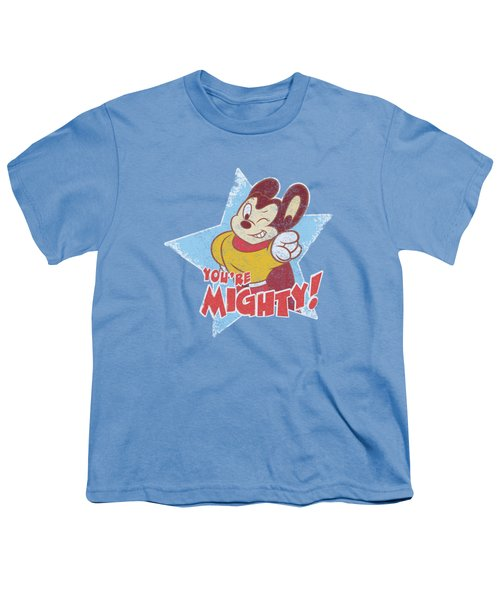 Mighty Mouse - You're Mighty Youth T-Shirt by Brand A
