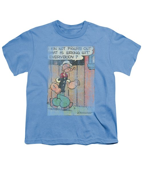 Popeye - Puzzled Youth T-Shirt