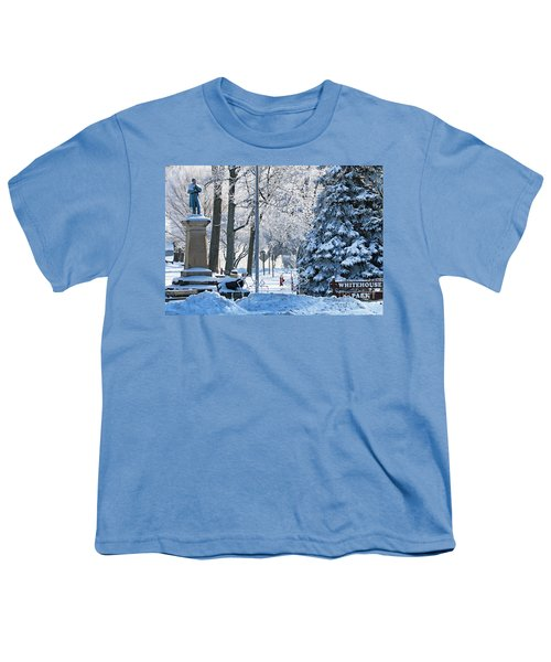 Whitehouse Village Park  7360 Youth T-Shirt by Jack Schultz