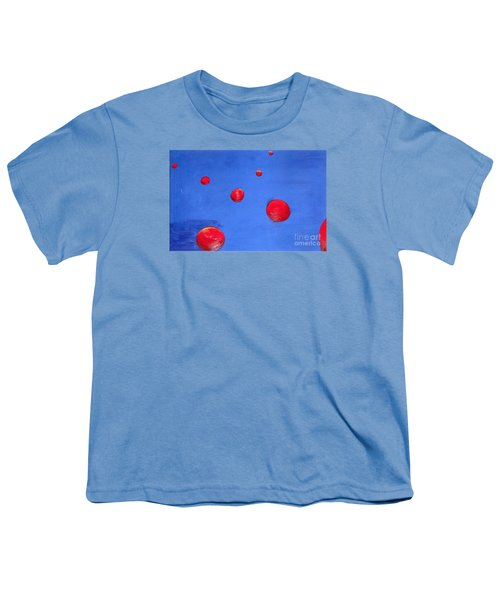Orbs In Space 1 -- Crossing Paths Youth T-Shirt by Rod Ismay