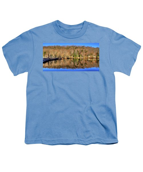 Youth T-Shirt featuring the photograph Pond Reflections by David Patterson