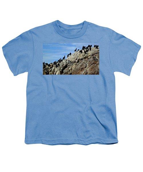 A Gulp Of Cormorants Youth T-Shirt
