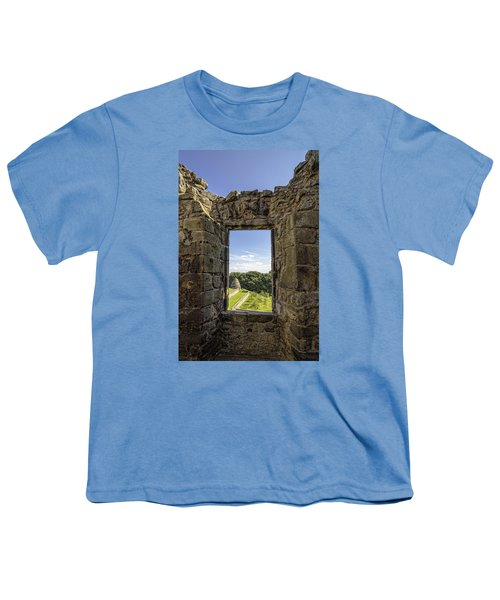 Youth T-Shirt featuring the photograph Aberdour Castle by Jeremy Lavender Photography