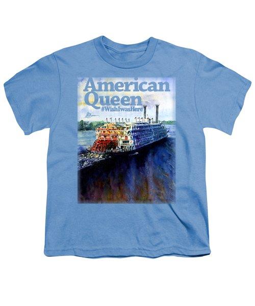 American Queen Shirt Youth T-Shirt