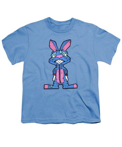 Bizarre Bunny Mascot Youth T-Shirt