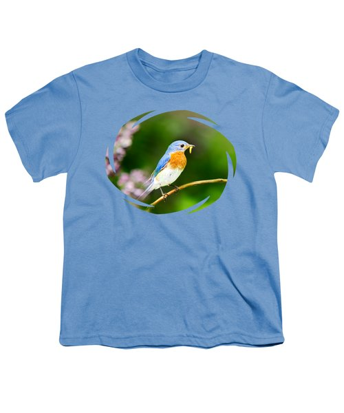 Bluebird Youth T-Shirt by Christina Rollo