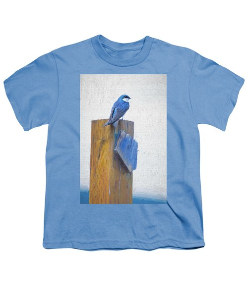 Youth T-Shirt featuring the photograph Bluebird by James BO Insogna
