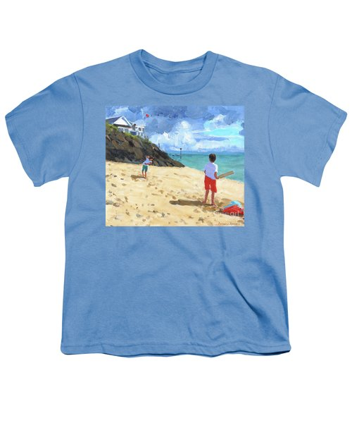 Bowling And Batting, Abersoch Youth T-Shirt
