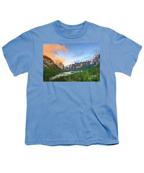 Colors Of Yosemite Youth T-Shirt