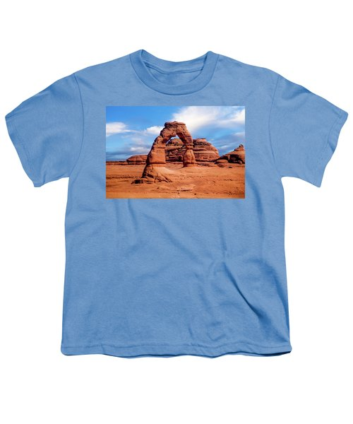 Delicate Arch From Lower Viewpoint Youth T-Shirt