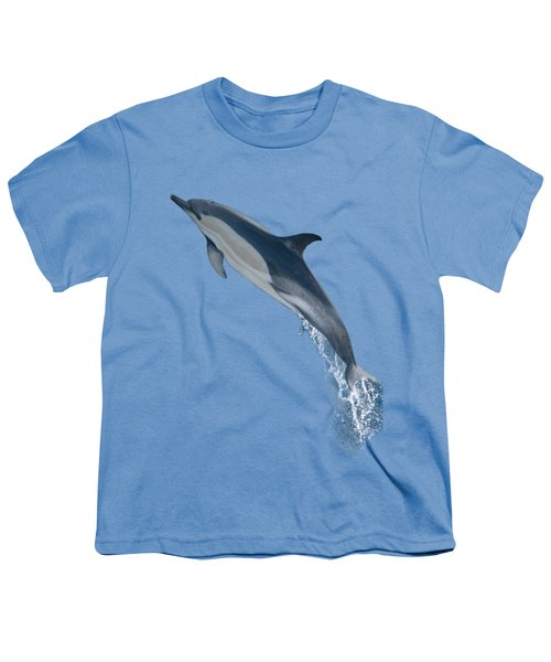 Dolphin Leaping T-shirt Youth T-Shirt