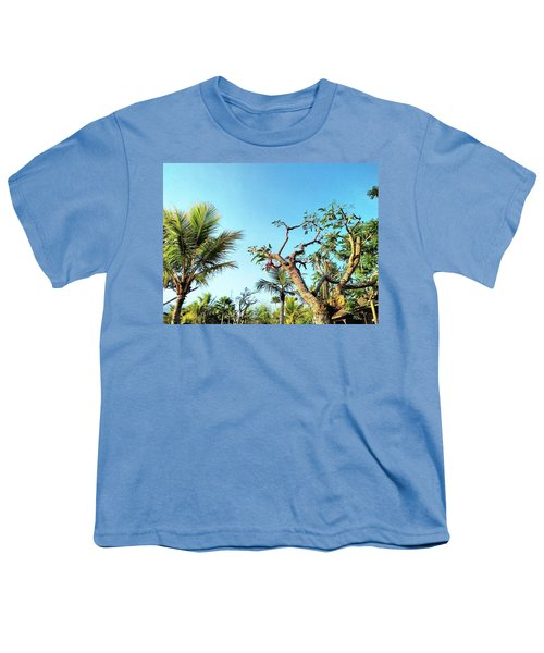 Tree And Blue Sky Youth T-Shirt