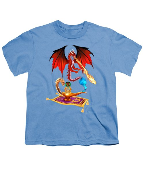 Dragon Genie Youth T-Shirt by Glenn Holbrook
