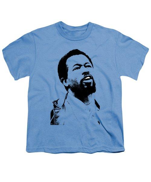 Eldridge Cleaver Youth T-Shirt by Otis Porritt