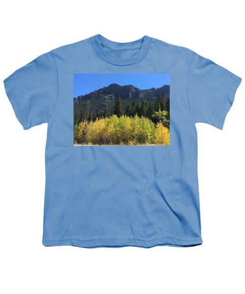 Fall At Twin Sisters Youth T-Shirt