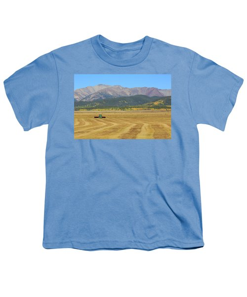 Youth T-Shirt featuring the photograph Farming In The Highlands by David Chandler