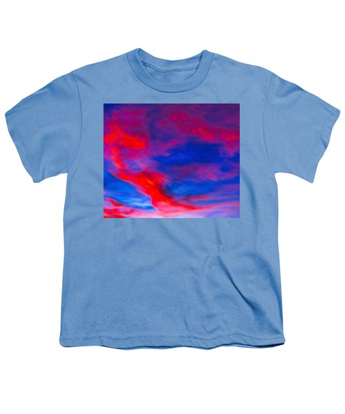 Fiery Dragon Floating Youth T-Shirt
