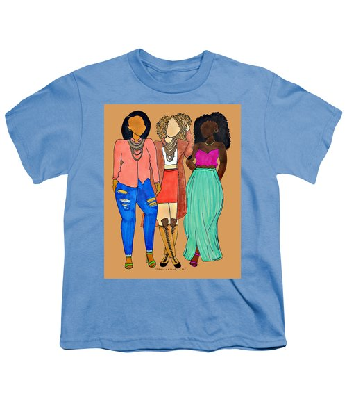 Franz 2 Youth T-Shirt by Diamin Nicole
