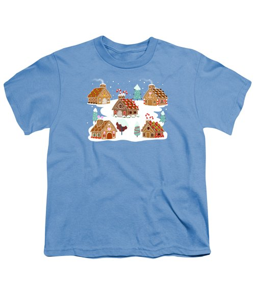 Gingerbread Village Youth T-Shirt