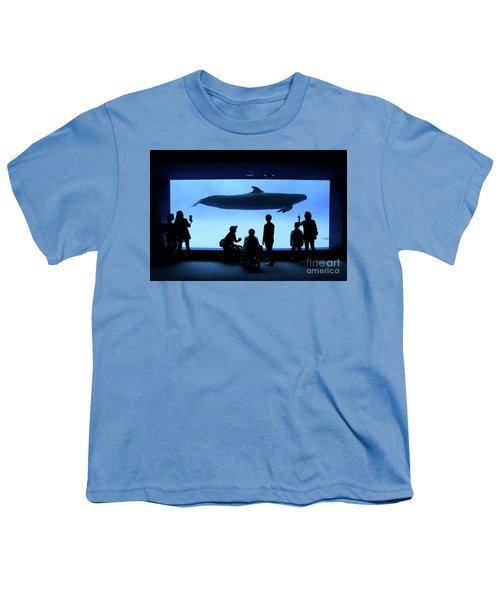 Grand Whale Youth T-Shirt by Tatsuya Atarashi