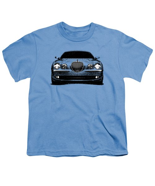 Jaguar S Type Youth T-Shirt by Mark Rogan