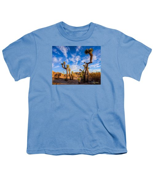 Youth T-Shirt featuring the photograph Joshua Tree Dawn by Rikk Flohr
