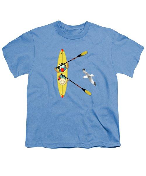 K Is For Kayak And Kittiwake Youth T-Shirt