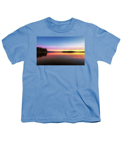 Lake Winnipesaukee Reflections Youth T-Shirt