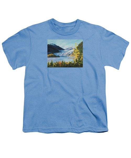Mendenhall Glacier Juneau Alaska Youth T-Shirt