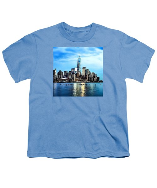 Nyc- A Blue Day Youth T-Shirt