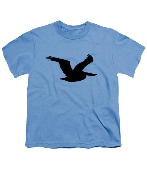 Pelican Profile .png Youth T-Shirt by Al Powell Photography USA
