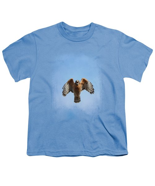 Raptor's Warning Youth T-Shirt by Jai Johnson