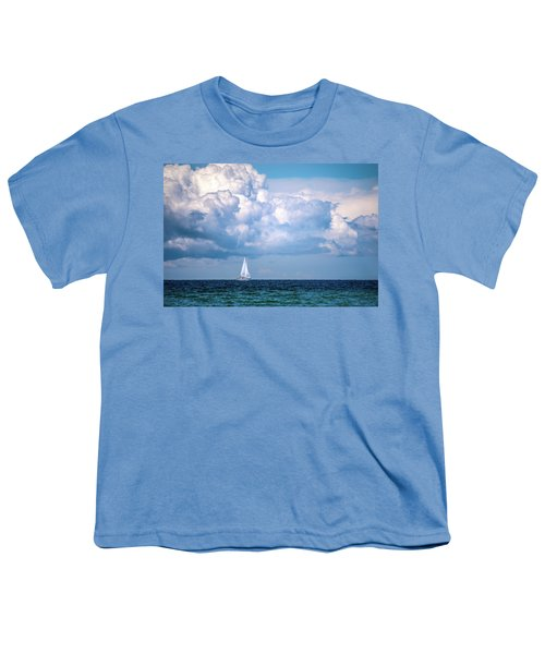 Sailing Under The Clouds Youth T-Shirt
