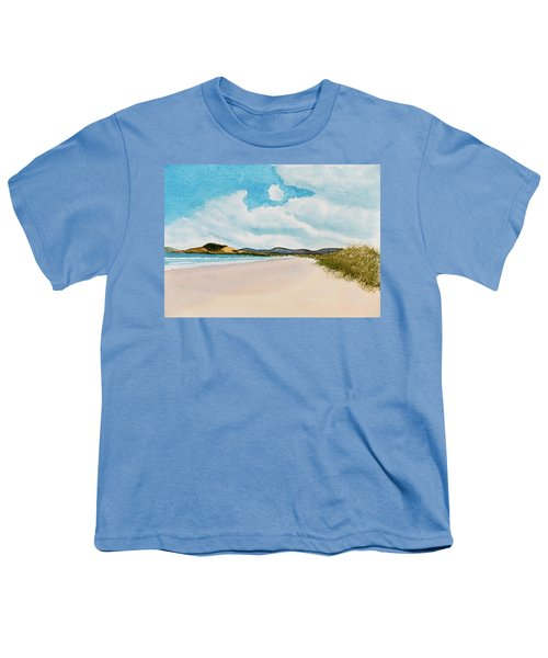 Seven Mile Beach On A Calm, Sunny Day Youth T-Shirt