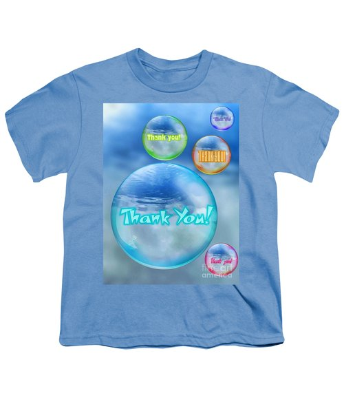 Thank You Bubbles Youth T-Shirt