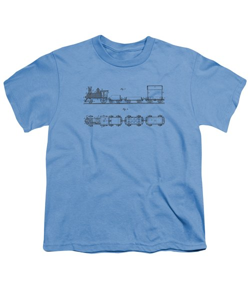 Toy Train Tee Youth T-Shirt by Edward Fielding