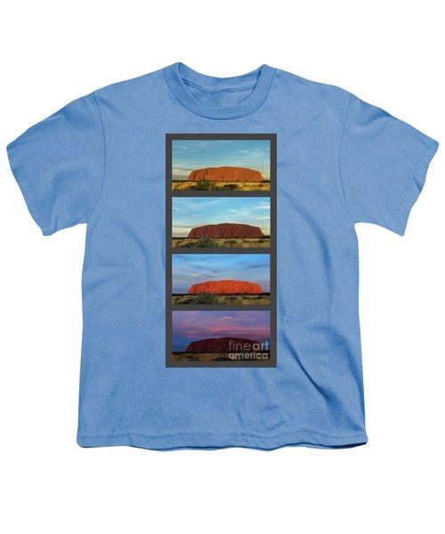 Uluru Sunset Youth T-Shirt