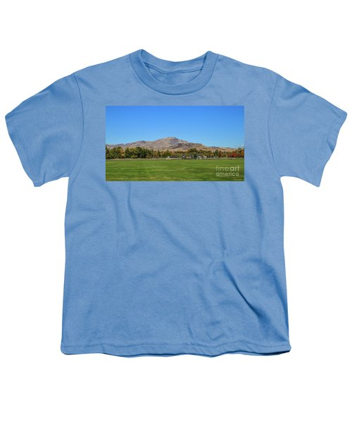 View From Gem Island Sport Complex Youth T-Shirt