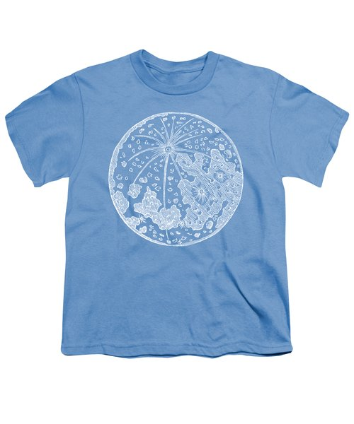 Vintage Planet Tee Blue Youth T-Shirt
