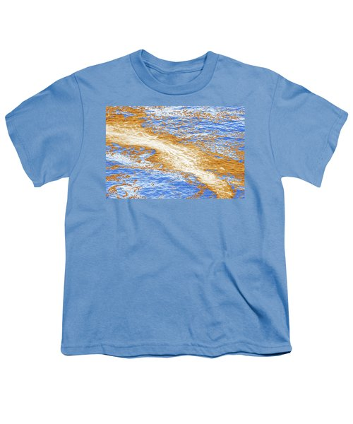 Watery Abstract No. 3-1 Youth T-Shirt