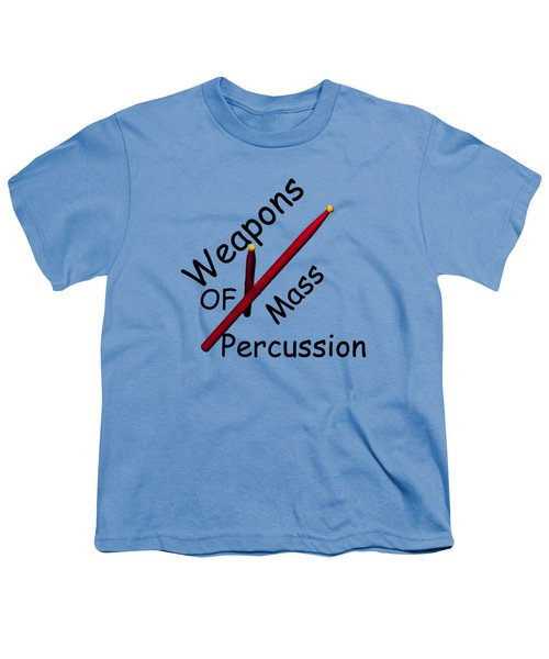 Weapons Of Mass Percussion Youth T-Shirt by M K  Miller